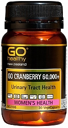 Cranberry 60,000 Capsules | Go Healthy Natural Vitamins ...