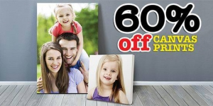 Photo Canvas 60% off