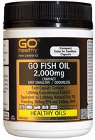Fish Oil 2000mg Odourless Capsules