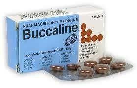 Buccaline Time....time for your second course of Buccaline to get you through to the end of Winter